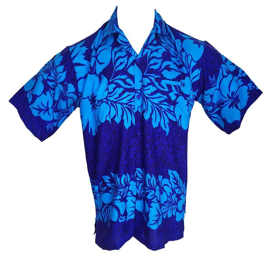 a57b79045 The Classic Mens Hawaiian Shirts Blue Bucks Party - Tropicool Clothing