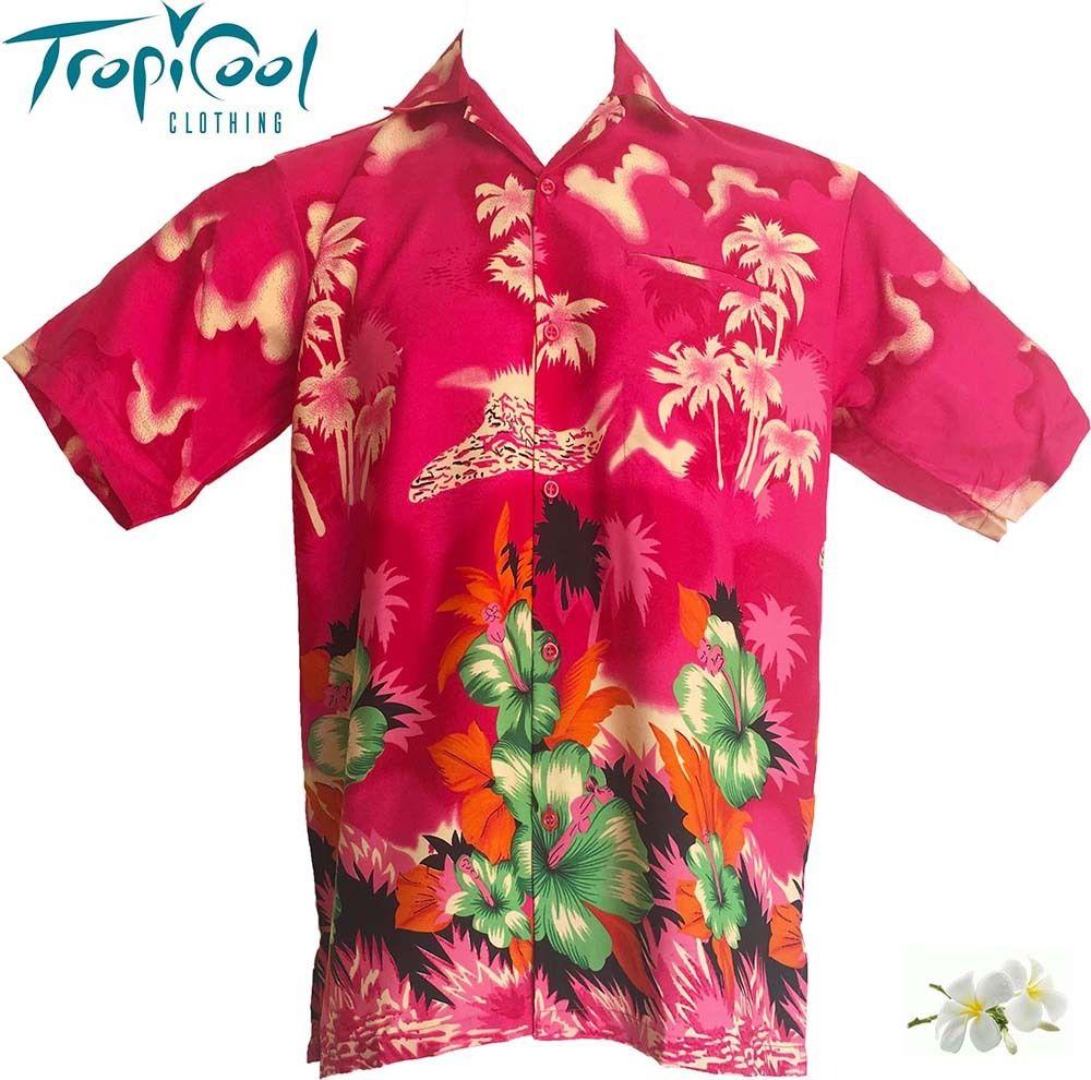 Go troppo pink mens hawaiian shirts bucks stag party fancy for Hawaiian shirt fancy dress
