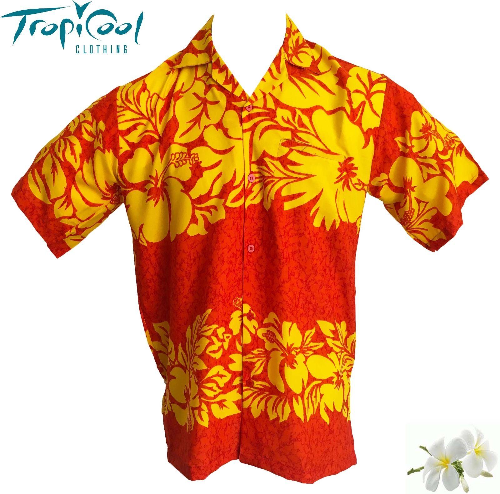 8ab54743 The Classic Mens Hawaiian Shirts Fancy Dress PLUS SIZE - Tropicool ...